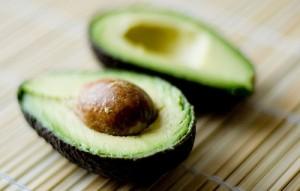natural hair avocado